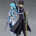 2017 Nuevo Anime Espada de Arte En Línea 15 cm Figma 264 & 289 Ausna ALOver Juguetes Figuras de Acción En Caja