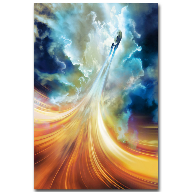 Star Trek 3 Beyond Art Silk Fabric Poster Print 13×20 24×36 inch 2016 New Movie USS Enterprise Picture for Room Wall Decor 005