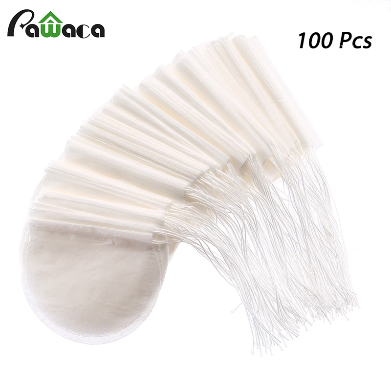 Round Tea Bags 100 Pcs/Lot Teabags Empty Scented Tea Bags Filter Infuser with String Heal Seal Paper Teabags for Herb Loose TeaRound Tea Bags 100 Pcs/Lot Teabags Empty Scented Tea Bags Filter Infuser with String Heal Seal Paper Teabags for Herb Loose Tea