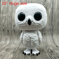 10'' Huge Funko pop Secondhand Harry Potter Hedwig Super sized Vinyl Action Figure Collectible Model Loose Toy No Box