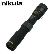 Buy online Nikula 10-30×25 Zoom Monocular High quality Telescope Pocket Binoculars Powerful Hunting Scope Bak4 Optical Glass With tripod