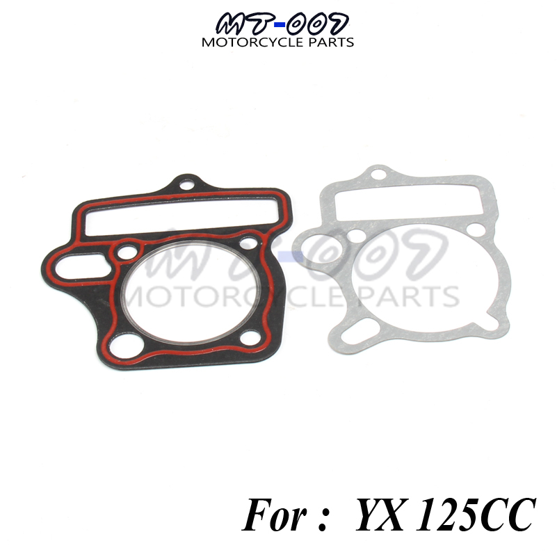 YX125 YINXIANG 125 Engine Gasket Cylinder Gaskets Kit Oil Cooled Engine Dirt Trail <font><b>Motor</b></font> Bike Motorcycle ATV image
