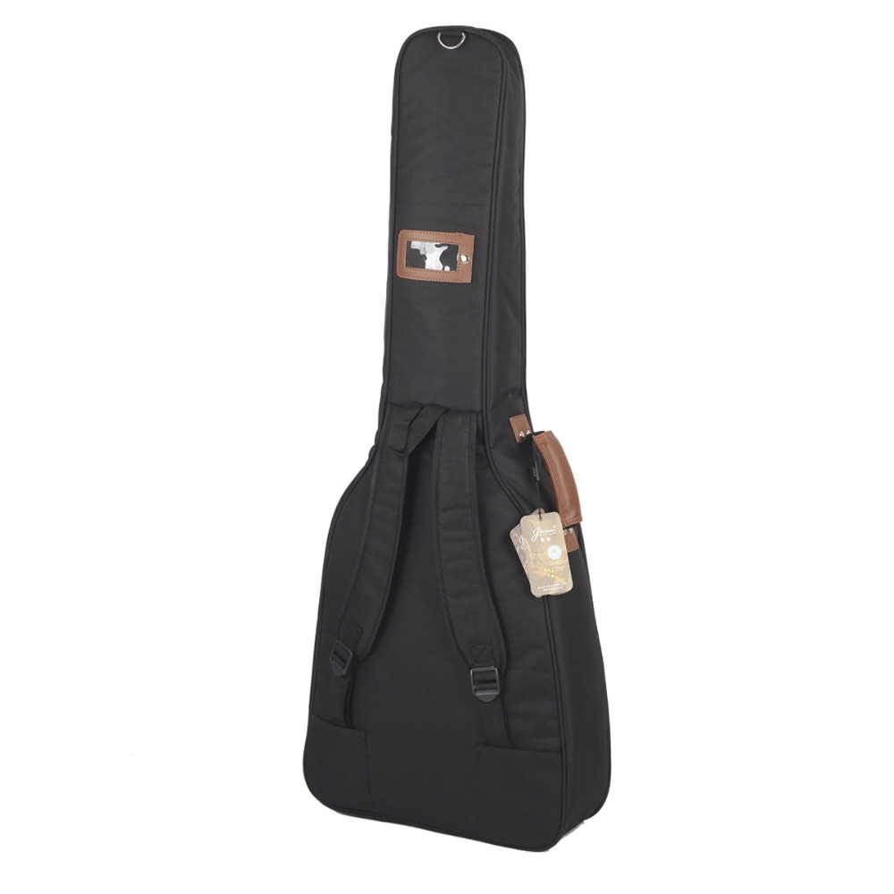 Waterproof professional portable 38 39 40 41inch acoustic guitar case gig bag soft backpack cover padded pocket handle strap