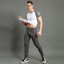 Быстросохнущие штаны для бега, мужские спортивные тренировочные штаны для фитнеса, спортивные штаны для бодибилдинга