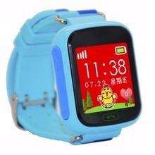 ปลอดภัยต่อต้านหายไปตรวจสอบเด็กของขวัญเด็กsmart watchโทรศัพท์ซิมการ์ดติดตามสำหรับเด็กsos smartwatchหุ่นยนต์ios