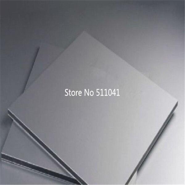9mm Titanium Ti Gr.2 Gr2 Grade 2 Plate Sheet 480 x 280 and 480 x 200