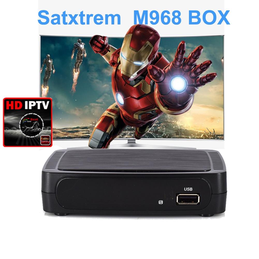 M968 Smart TV Box Support USB WiFi Youtube H.264 support 1 Year IPTV Box 1080P Full HD Media Player vs MAG 254 MAG 250 M258 цена 2017
