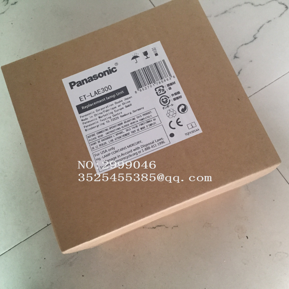 NEW Genuine Original Replacement ET-LAE300 OEM Projector Lamp For Panasonic  PT-EZ770, PT-EW730Z/ZL PT-EX800Z/ZL Series(400W) panasonic et lad55w original replacement lamp for the panasonic pt d5500 and other projectors 2 lamp