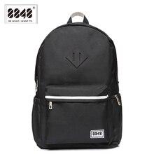 8848 marke schwarz rucksäcke unisex 500 d wasserdichte oxford weiche back art rucksack für reise schule student frauen männer s15004-8