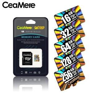 Ceamere Micro-Sd-Card Memory-Card-Flash Smartphone Class10 UHS-1 U3 128GB/256GB U1