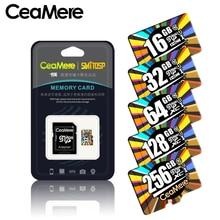 CeamereマイクロsdカードClass10 UHS 1 8ギガバイトClass6 16ギガバイト/32ギガバイトU1 64ギガバイト/128ギガバイト/256ギガバイトU3メモリカードフラッシュメモリmicrosdスマートフォン