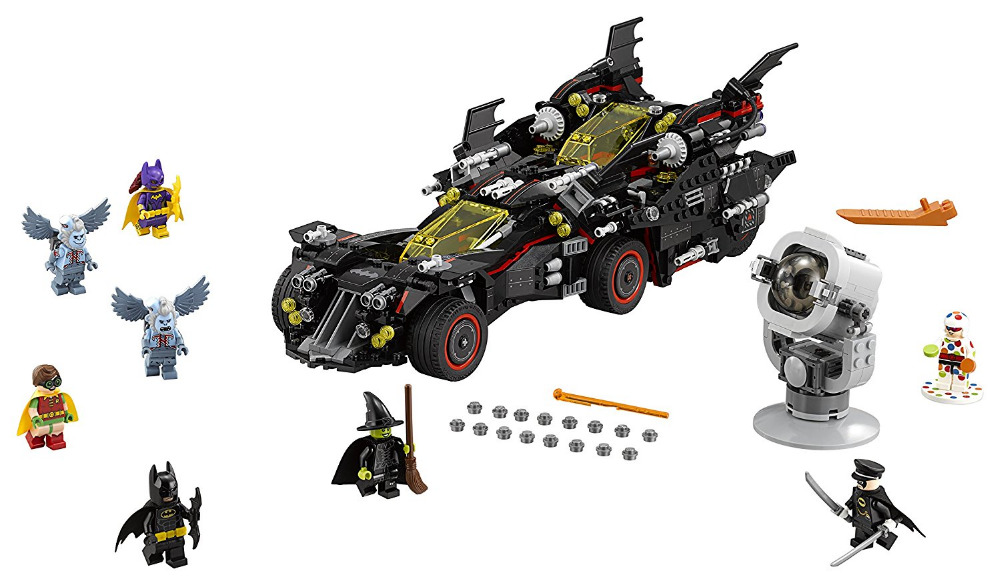 LEPIN Batman Series The Ultimate Batmobile Building Blocks Bricks Movie Model Kids Toys Marvel Compatible Legoe