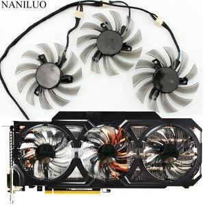 Image 1 - Nouveau 75 MM T128010SU 0.35A ventilateur de refroidissement pour Gigabyte GTX 670 680 760 Ti G1 GTX 770 780Ti ventilateur GTX Titan ventilateur carte vidéo refroidisseur ventilateur