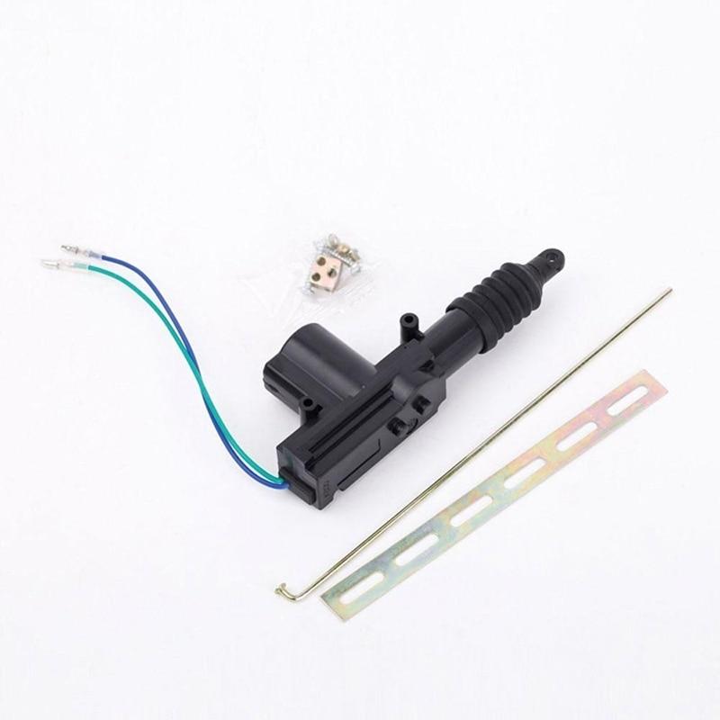 2 Wire Black Car Alarm System Central Locking Automatic