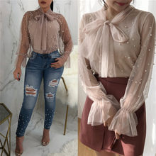 4d95671c6ed Compare Prices on Pearl Work Blouses- Online Shopping/Buy Low Price ...