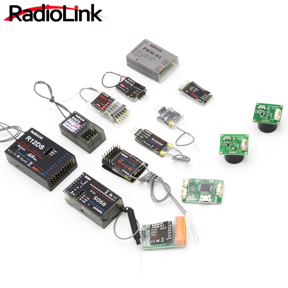 Image 5 - Radiolink R12DSM R12DS R9DS R8FM R6DSM R6DS R6FG R7FG Rc Receiver 2.4G Signal for RC Transmitter-in Parts & Accessories from Toys & Hobbies