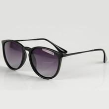 Мода поляризованные Солнцезащитные очки для женщин Для мужчин Для женщин Брендовая Дизайнерская обувь ERIKA Защита от солнца Очки для мужской женский ацетат Рамка UV400 Óculos 4171 RS261