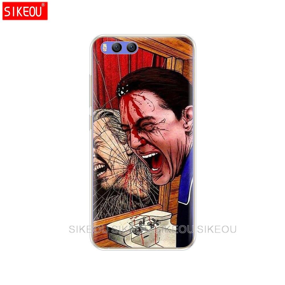 Silicone Cover Case For Xiaomi Mi A1 A2 5 5S 5X 6 Mi5 MI6 NOTE 3 MAX Mix 2 2S Twin Peaks Fire Walk With Me