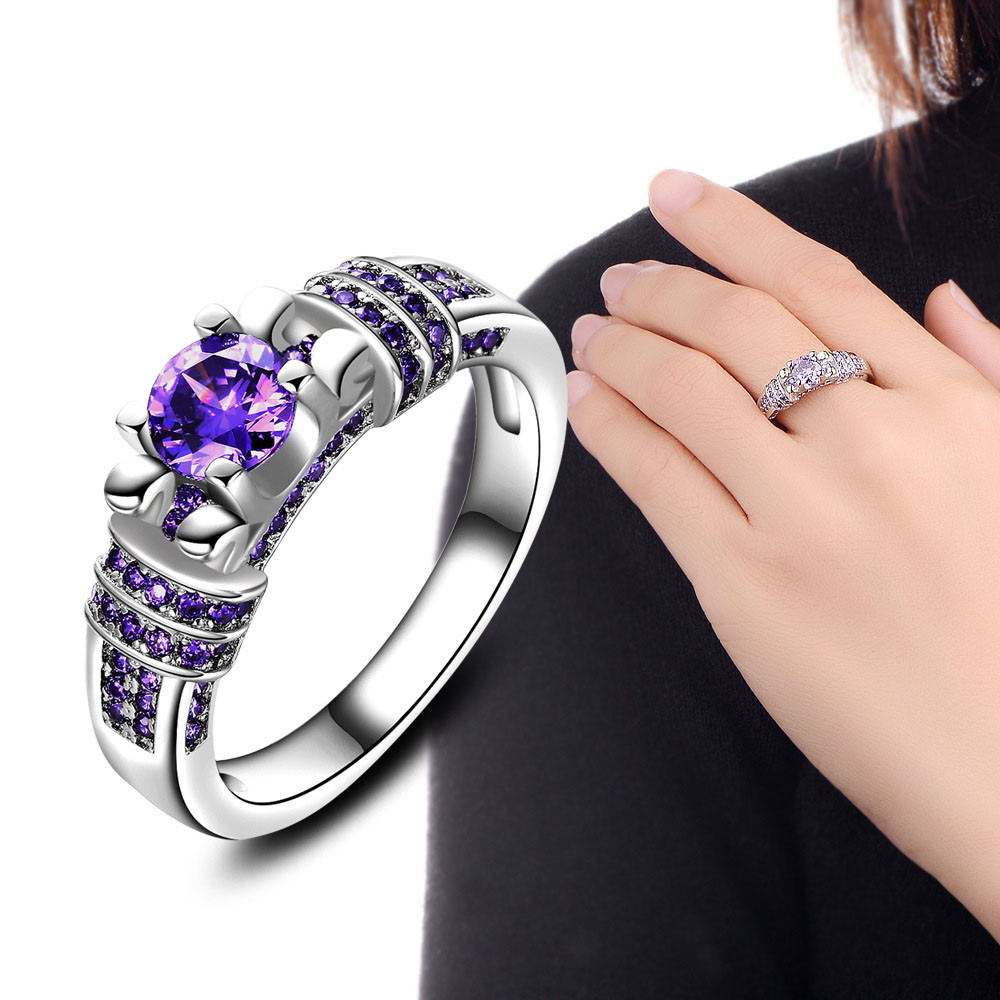 2017 Fashion Jewelry Ring For Women Engagement Wedding ...