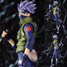 Figurines Naruto Kakashi, offre spéciale, 23cm, dessin animé, Shippuden, modèle en boîte à collectionner, jouets poupée, cadeaux danniversaire, WX403