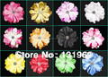 "wholesale 48 pcs 3.5"" Peony Sweet Baby Girl Hair Flower Clips headwear hair bow accessories a1234"