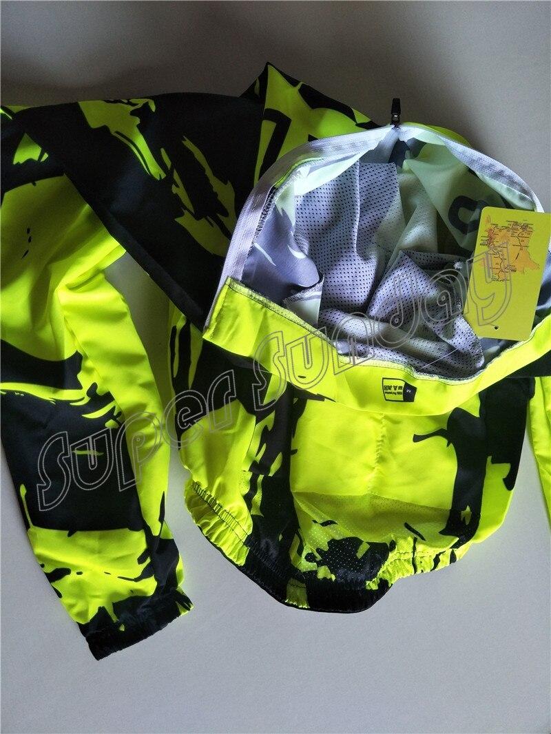 Coupe-vent maillots vent manteau Fluorescent cyclisme maillots coupe-vent veste Sunshield vélo Sportswear livraison gratuite FWL1 - 2