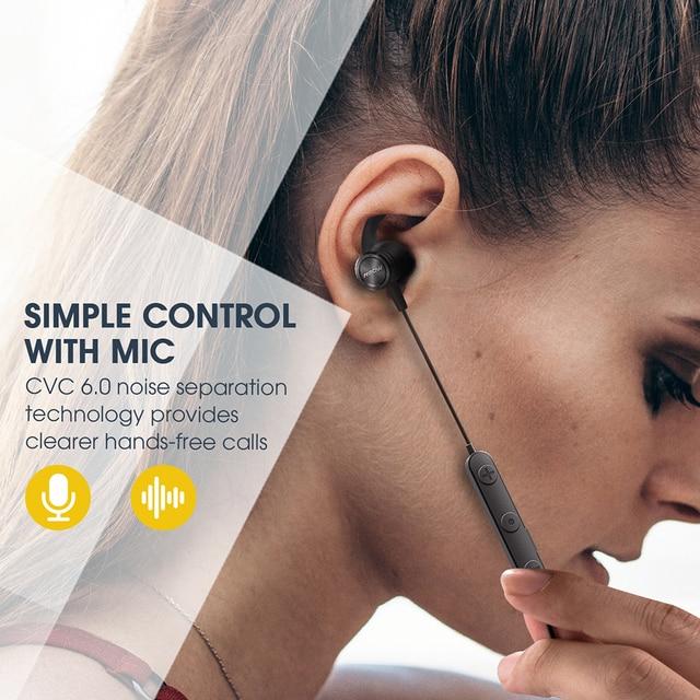 Mpow S10 Bluetooth Wireless Earphone IPX7 Waterproof Sport Earphones Handsfree Headset With Noise Canceling Microphone For Gym 3