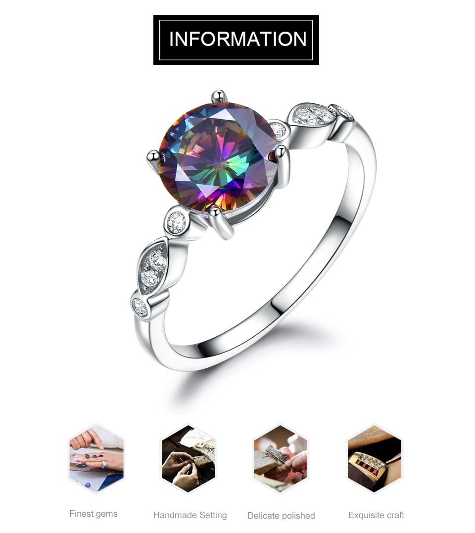 HTB1mRBoaY1YBuNjSszeq6yblFXah UMCHO Genuine Rainbow Fire Mystic Topaz Rings for Women Genuine 925 Sterling Silver Trendy for Women Romantic Gift Fine Jewelry