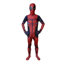 New Arrival Deluxe Mens Marvel Deadpool Costume Adult Movie Halloween Carnival Party Cosplay Clothing