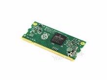 Cheaper Raspberry Pi Compute Module 3 Contains the guts of a Raspberry Pi 3 4GB eMMC Flash 1.2GHz quad-core ARM Cortex-A53 processor