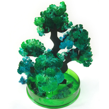 2019 14Hx13Dcm Visual Green Magic Growing Paper Bonsai Tree Kit Mystic Pine Trees Christmas Science Educative Toys For Children