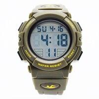 green waterproof wrist digital automatic watches for men digitais watch running mens man digitales clock runing swim diving saat