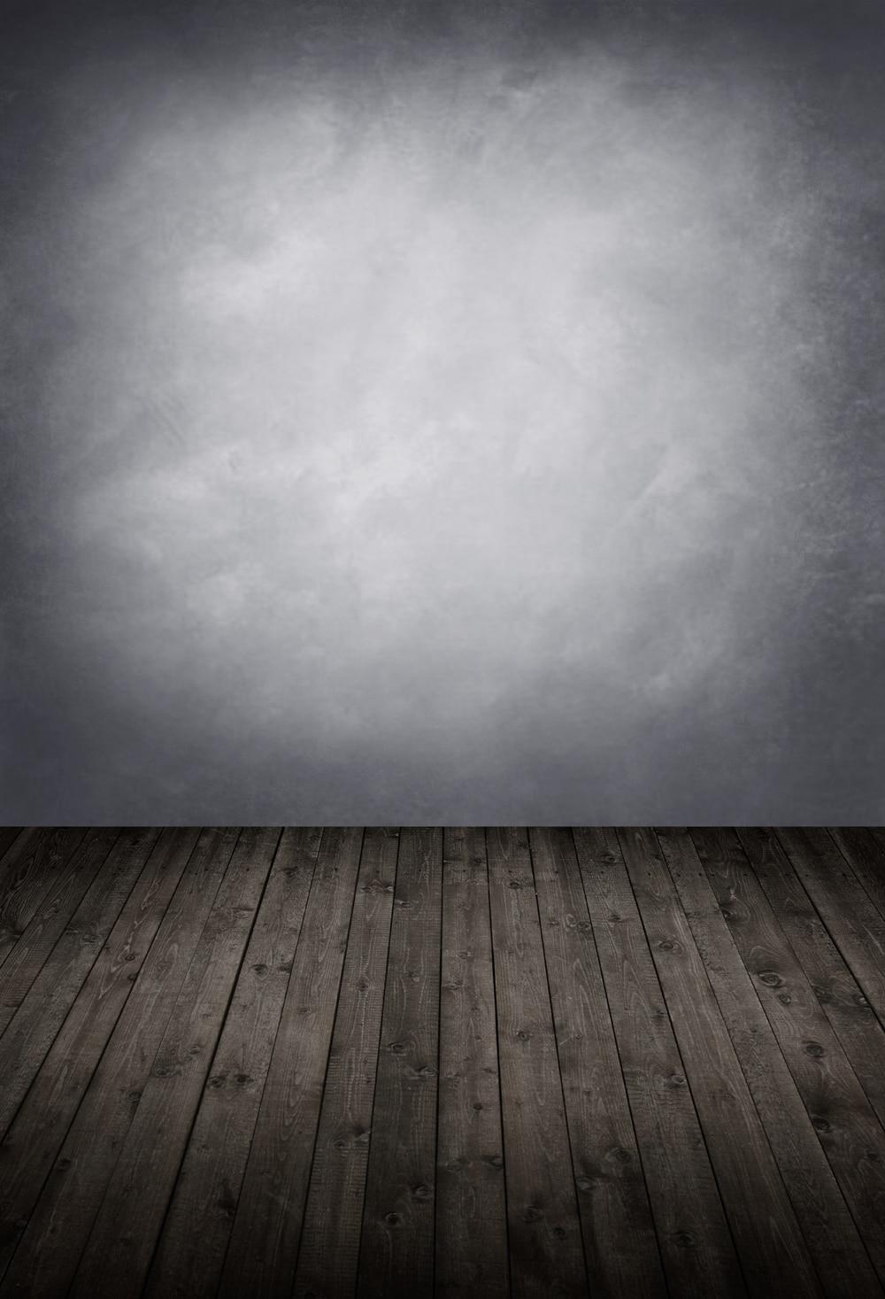 Dark Gray vinyl backdrop Solid backdrop background photo background  wooden planks photo studio background XT-6507