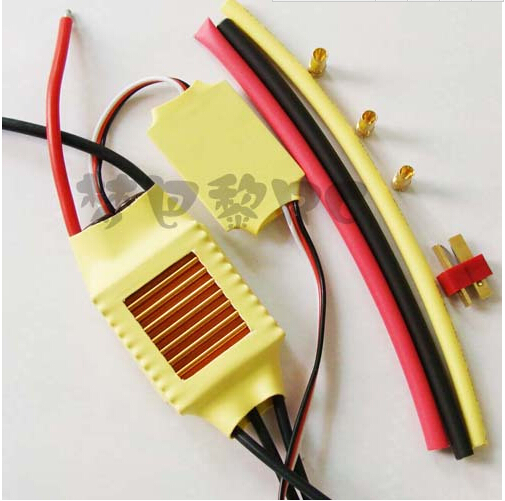 New XXD 50A ESC Brushless Motor Speed Controller ESC Helicopter with Heat Shrink Tubing T plug+Free shipping free shipping feike da skyrc toro 8s 150a model car brushless esc electronic speed control