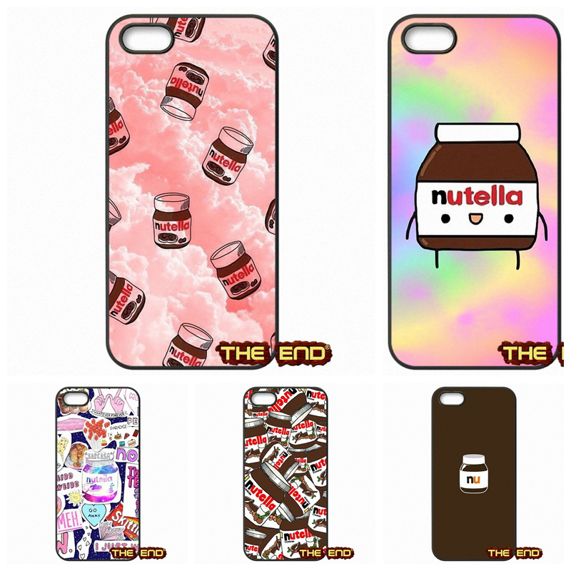 Another Nutella Wallpaper Kawaii Cute Cell Phone Case Cover For Apple Iphone 4 4s 5 5c Se 6 6s 7 Plus 4 7 5 5 Ipod Touch 4 5 6 Case Cover Phone Casescell Phone Cases Aliexpress