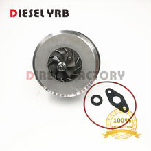Turbo Core GT1749V 724930 pour Volkswagen Passat B6 2.0 TDI BKP BKD AZV Garrett Turbo chargeur turbo kit chra pour VW 2.0TD(China)