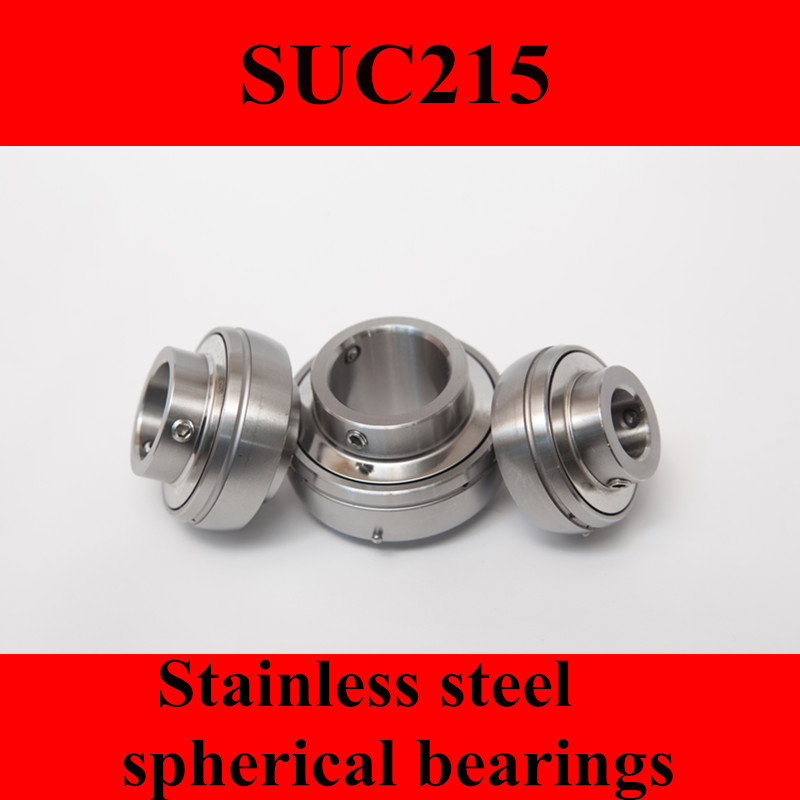 Stainless steel spherical bearings SUC215 UC215