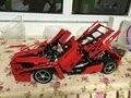 2016 nova bela enzo 1:10 supercar modelo bloco de construção do carro brinquedos educativos de construção técnica bricks compatível com lepin diy