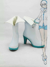 Freeshipping Vocaloid China Projekt Yan Er Weibliche High Heel Cosplay Stiefel schuhe #5 hand made Maß für Halloween weihnachten(China)