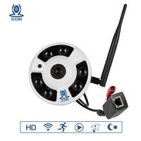 ZSVEDIO IP Camera Wi Fi 720P 960P 1080P Surveillance Camera POE Fisheye CCTV HD 360 Degree