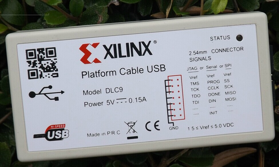 Xilinx platform cable, USB line downloader to download the FPGA/CPLD programming