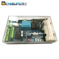 Contrôleur de carte de circuit imprimé | Pour barrière automatique, moteur 110V 220V AC uniquement (condensateur inclus)