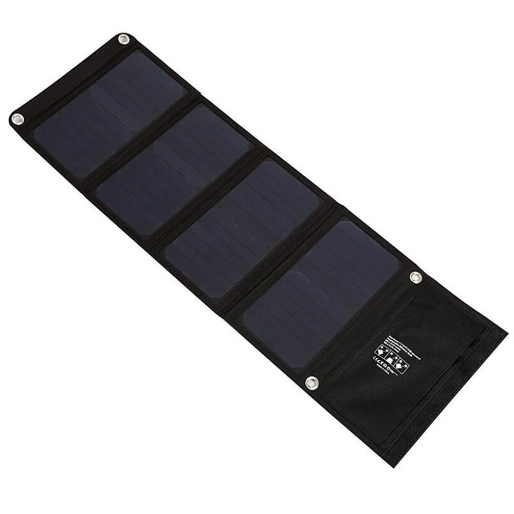 2019 Solar Power Bank 28W Panel Charger Durable Waterproof for Phone Accessory Drop Shipping