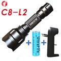 C8 L2 poderosa lanterna led 18650 bateria Casa acampamento ao ar livre Equitação Noite Caminhadas Pré-requisitos lanternas à prova d' água