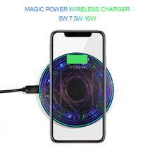 VITOG Wireless Quick Charger Pad QI Fast Charging for iPhone X/XS Max XR 8 Plus Wireless Charging for Samsung S8 S9 Xiaomi mi 9 mi wireless charging pad