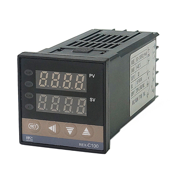 цена на Digital PID Temperature Controller RKC REX-C100  Thermocouple Probe High Quality RKC