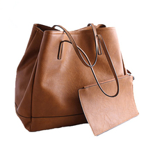 2016 New Casual Tote Practical Large Capacity Totes Bag High Quality Pu Leather Shoulder Handbags Brand Designers Ladies Bags