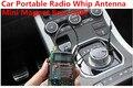 Coche portátil de radio SMA imán látigo 3dBi antena de radio de dos vías del coche mini imán de montaje de la antena 1.5 m de Cable RG174