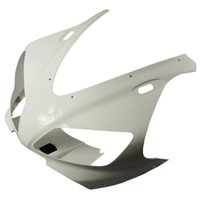 Unpainted White Motorcycle Front Cowl Nose Fairing for Yamaha YZF R1 1998 1999 98 99 Replacement Part
