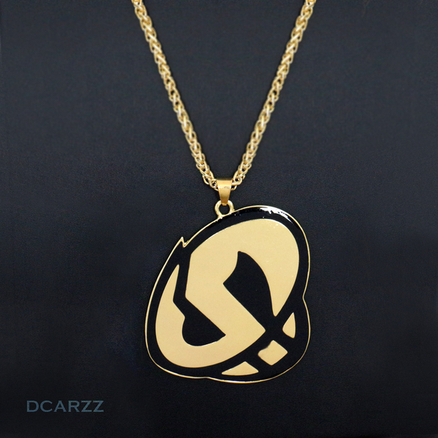 Team Skull Grunt Cosplay Necklace Pokemon Sun And Moon Silver Plated